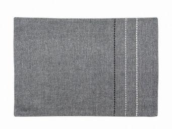 Interior's - set de table gris - Set De Table