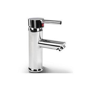 WHITE LABEL - robinet de salle de bain mitigeur lavabo - Robinet Lave Mains
