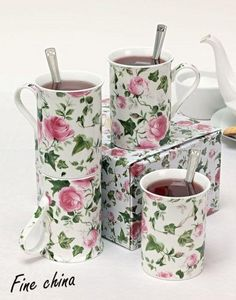 ICD COLLECTIONS - ivy rose set de 4 - Mug