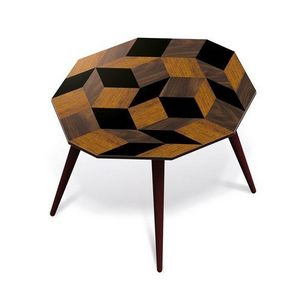 Ich&Kar - penrose wood - Table Basse Forme Originale