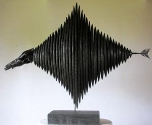 ERIC WEBER KNOCKONWOOD -  - Sculpture