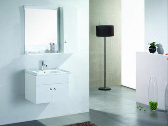 UsiRama.com - petit meuble salle de bain academie 60cm - Meuble Vasque