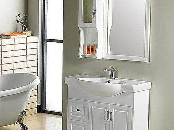 UsiRama.com - ensemble meuble salle de bain beside 90cm - Meuble Vasque