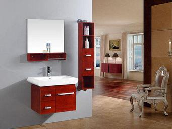 UsiRama.com - meuble salle de bain luxe roixy 60cm - Meuble De Salle De Bains