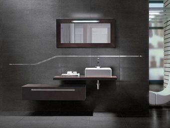 UsiRama.com - meuble salle de bain 110cm simple vasque - Meuble Vasque