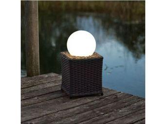 Eglo - lampadaire extérieur haakon - Lampadaire De Jardin
