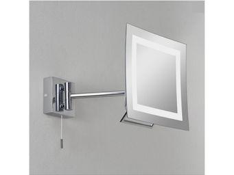ASTRO LIGHTING - miroir grossissant lumineux mural niro - Miroir Lumineux
