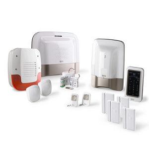 CFP SECURITE - alarme maison gsm delta dore tyxal + kit n°3 - Alarme