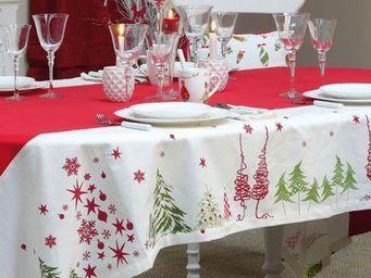Interior's - monts et merveilles - Nappe De Noël