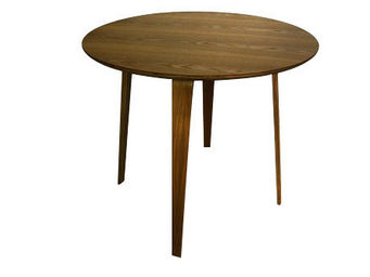MyCreationDesign - lack noyer - Table De Repas Ronde