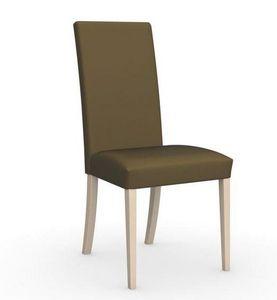 Calligaris - chaise italienne latina de calligaris piétement h - Chaise
