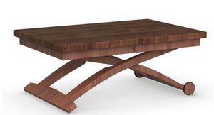 Calligaris - table basse relevable extensible italienne mascott - Table Basse Relevable