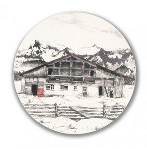 Angel Des Montagnes -  - Assiette Plate