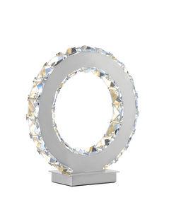 COMFORIUM - lampe à poser led avec cristaux ultra design - Lampe À Poser