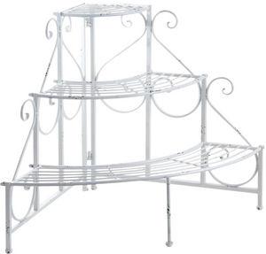 Aubry-Gaspard - etagère d'angle porte-pots - Porte Plantes