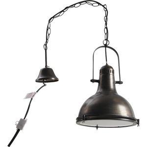 Aubry-Gaspard - lampe suspension metal diamètre 33cm - Lampe À Poser