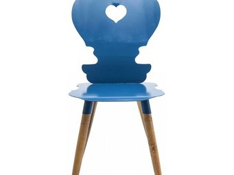Kare Design - chaise adelheid bleu - Chaise