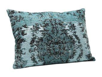 Kare Design - coussin kelim pop turquoise 60x40 - Coussin Rectangulaire