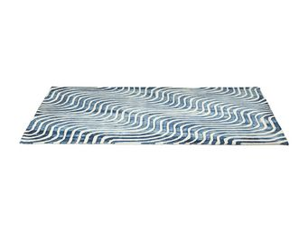 Kare Design - tapis design la ola bleu 170x240cm - Tapis Contemporain