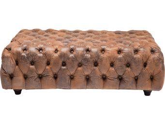 Kare Design - pouf oxford vintage eco 120x80 cm - Pouf