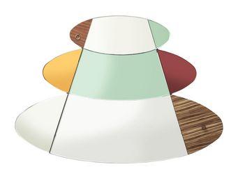 Kare Design - miroir metamorphosis circles 107x150cm - Miroir