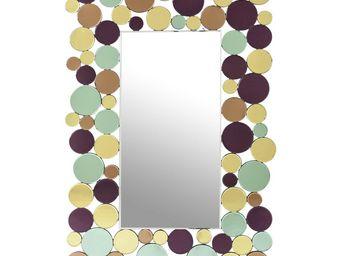 Kare Design - miroir circle crest 120x80cm - Miroir