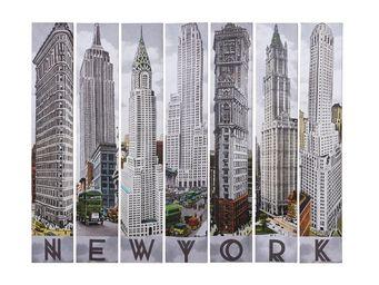 Kare Design - tableau new york architecture 7/set - Tableau Décoratif
