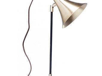 Kare Design - lampe de table trumpet copper uno - Lampe De Bureau