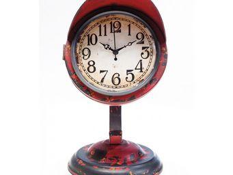 Kare Design - horloge de table scooter rouge - Horloge � Poser