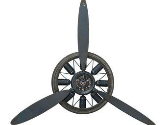 Kare Design - horloge murale propeller - Horloge Murale