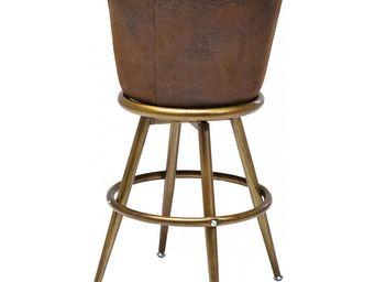 Kare Design - tabouret de bar lady rock vintage - Tabouret De Bar