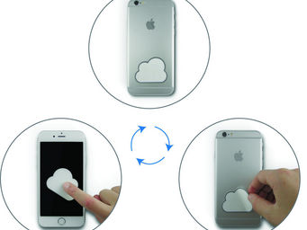 Pa Design - dusti - Sticker Téléphone