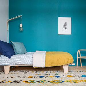 CAMOMILE LONDON - cotton two tone quilt - Quilt