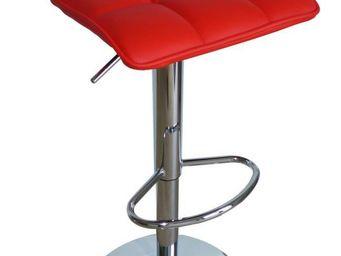 Cotton Wood - tabouret de bar tom rouge - Chaise Haute De Bar