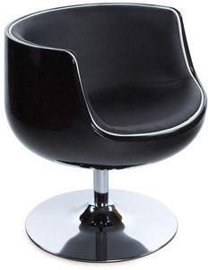 KOKOON DESIGN - fauteuil design pivotant harlow - Fauteuil Rotatif