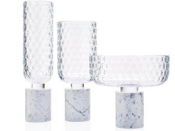 Moser - carrara - Vase � Fleurs