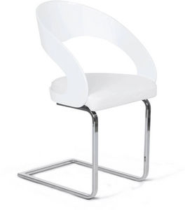 KOKOON DESIGN - chaise design similicuir mona - Chaise
