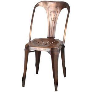 Demeure et Jardin - chaise en métal style vintage collection loftoten - Chaise