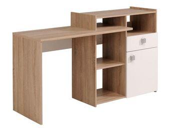 WHITE LABEL - bureau multi positions - nori n°1 - l 153 x l 50 x - Bureau