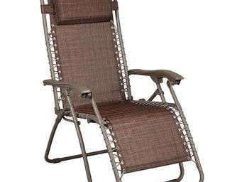 TOUSMESMEUBLES - fauteuil relax multiposition - spryng - l 91 x l 6 - Fauteuil De Jardin Pliant
