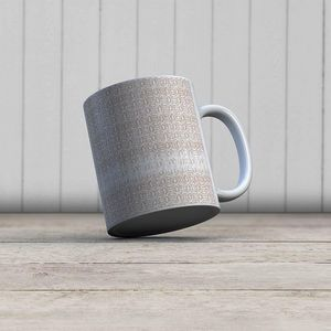 la Magie dans l'Image - mug anis beige blanc - Mug
