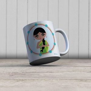 la Magie dans l'Image - mug héros indienne - Mug