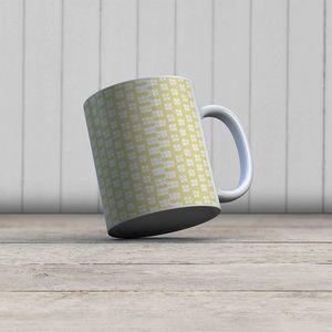 la Magie dans l'Image - mug lotus jaune blanc - Mug