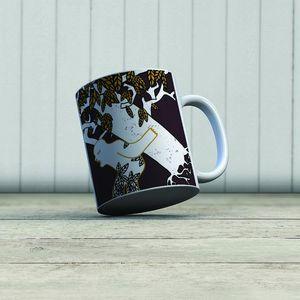 la Magie dans l'Image - mug ogre arbre fond marron - Mug