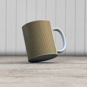 la Magie dans l'Image - mug pattern paons - Mug