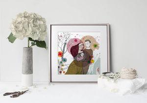 la Magie dans l'Image - print art famille - Estampe