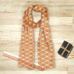 la Magie dans l'Image - foulard african orange - Foulard Carré