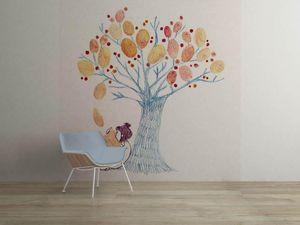la Magie dans l'Image - grande fresque murale un arbre - Papier Peint Panoramique