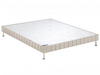 Bultex - bultex sommier tapissier confort ferme pierre 100 - Sommier Fixe À Ressorts
