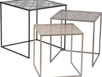 Amadeus - tables gigognes cutting (lot de 3) - Tables Gigognes